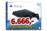 akce na Playstation 4 Slim 500GB