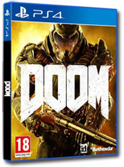 Doom hra na Playstation 4