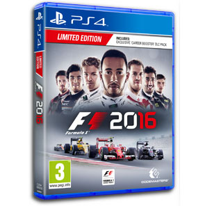 Formula One 2016 hra na PS4