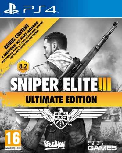 Image of Sniper Elite 3 Ultimate Edition PS4