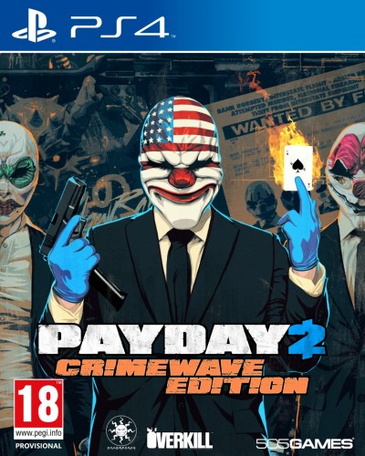 Image of Payday 2 PS4