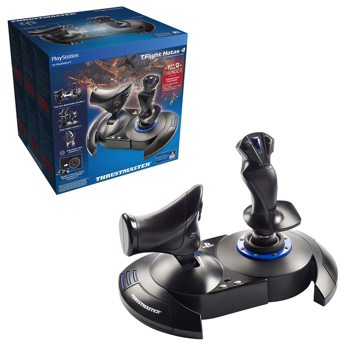 Joystick Hotas 4 na Playstation 4