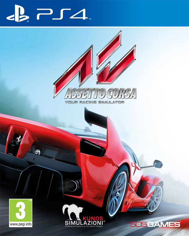 Image of Asseto Corsa PS4