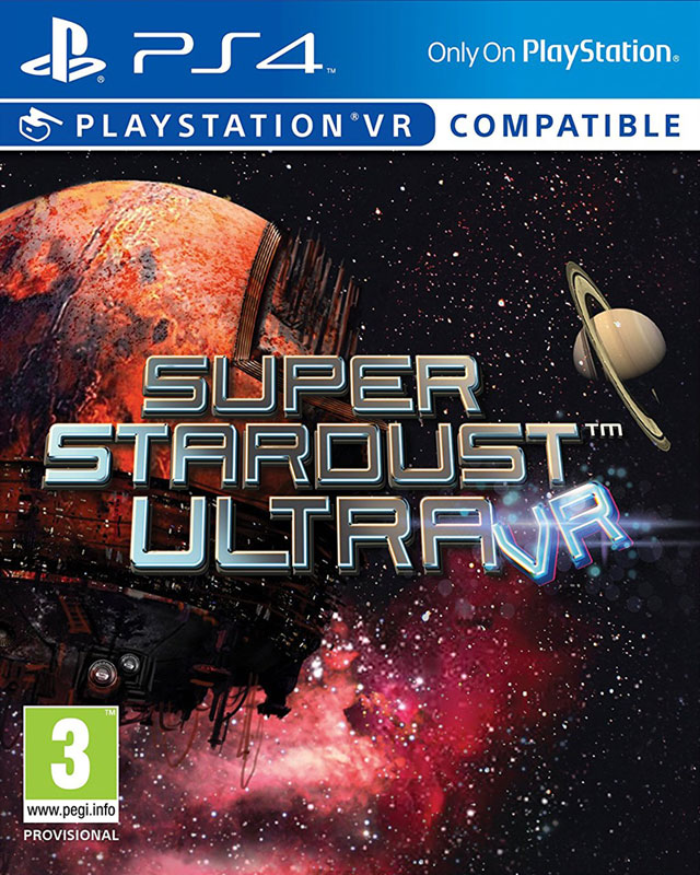 Super Stardust Ultra VR PS4 - vyžaduje Playstation VR
