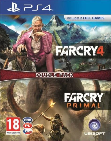 Far Cry 4 CZ + Far Cry Primal CZ PS4