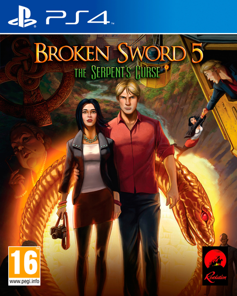 Broken Sword 5 PS4