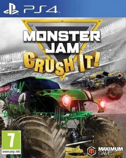 Monster Jam: Crush It PS4