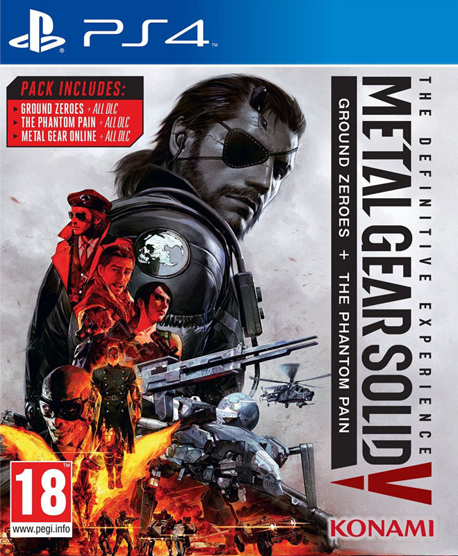 Metal Gear Solid V: Definitive Experience PS4