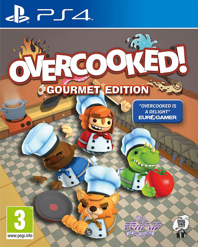 Overcooked: Gourmet Edition PS4