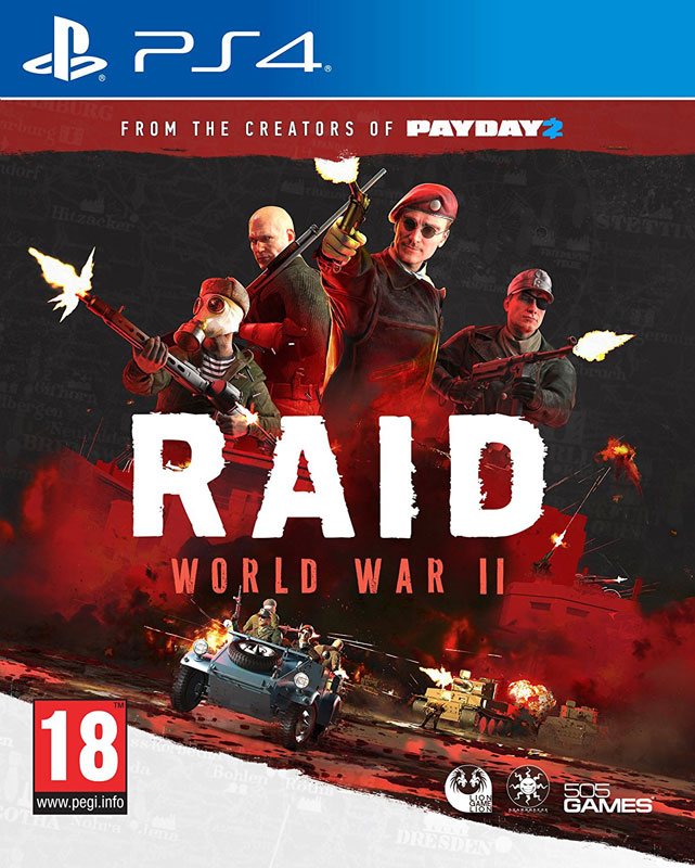 Raid: World War 2 PS4