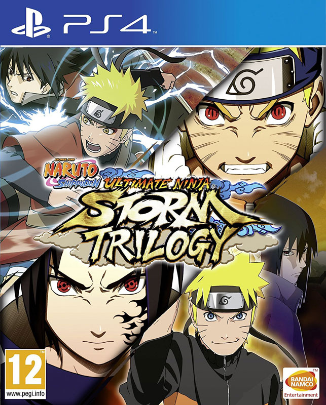 Naruto Shippuden: Ultimate Ninja Storm Trilogy PS4
