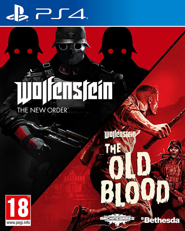 Wolfenstein The New Order and The Old Blood Double Pack PS4
