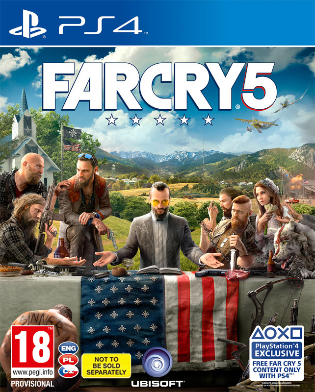 Far Cry 5 PS4 (CZ)