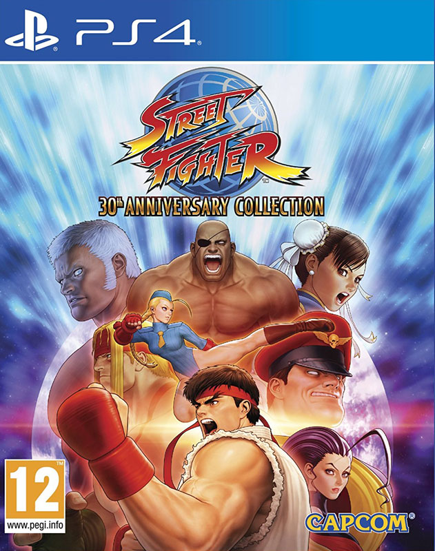 Street Fighter 30th Anniversary PS4