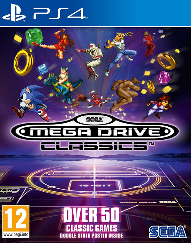 Sega MegaDrive Collection PS4