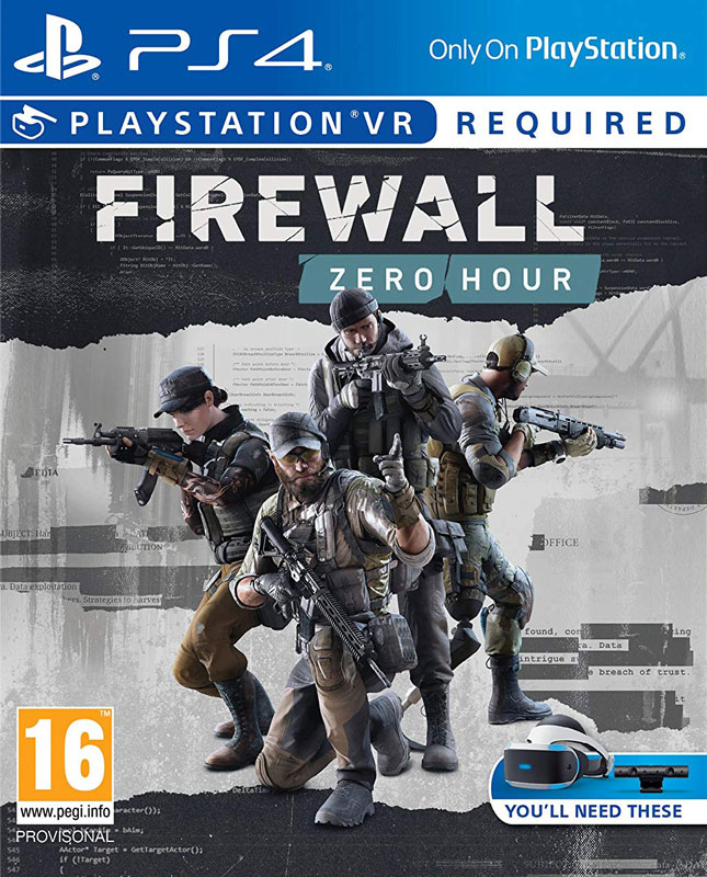 Firewall: Zero Hour VR PS4