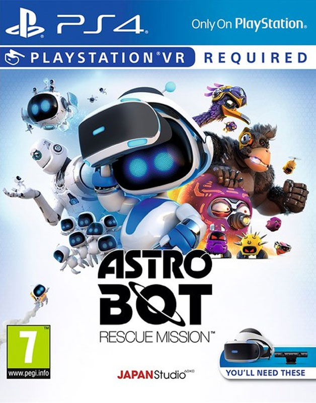 Astrobot VR PS4 - vyžaduje Playstation VR