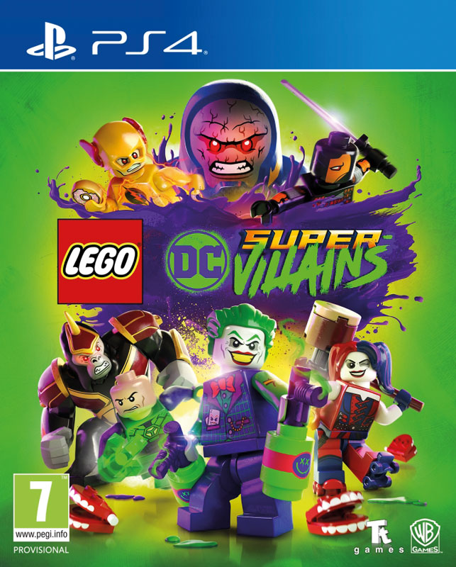 LEGO DC Super-Villians PS4