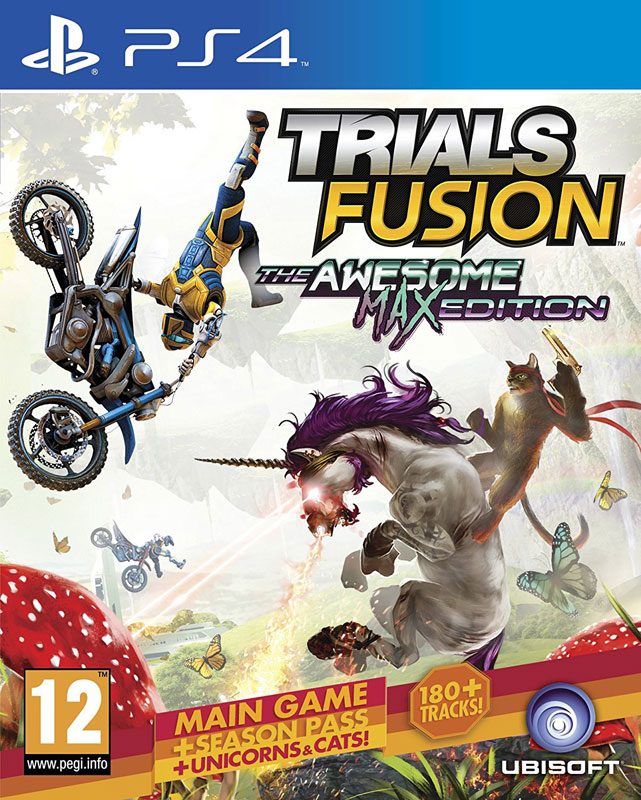 Trials Fusion: Awesome Max Edition PS4