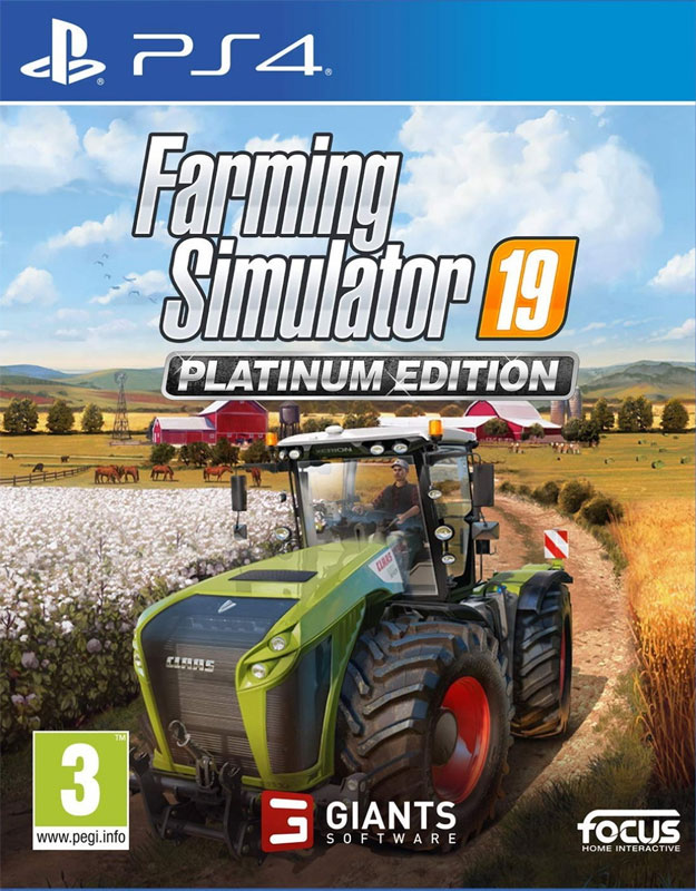 Farming Simulator 19 Platinum Edition PS4 CZ
