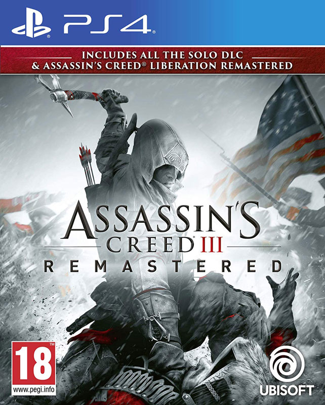 Assassins Creed 3 + Liberation Remastered PS4