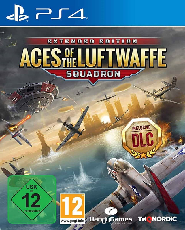 Aces of the Luftwaffe: Squadron Extended Edition PS4
