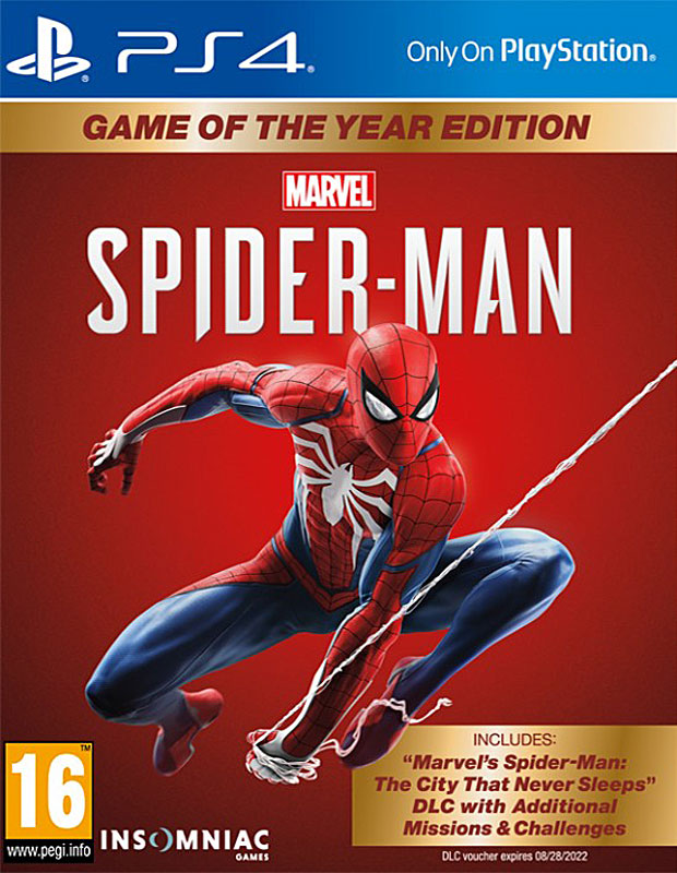 Spiderman Game of the Year Edice PS4 CZ