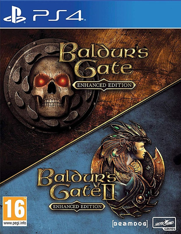 Baldur's Gate 1+2 Enhanced Edition PS4