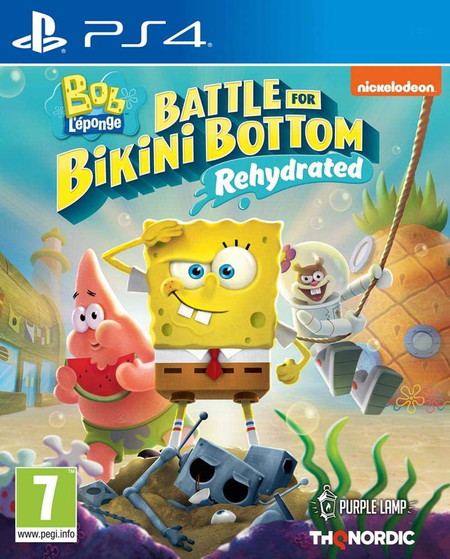 Spongebob SquarePants: Battle for Bikini Bottom - Rehydrated PS4