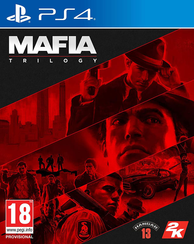 Mafia Trilogy PS4 CZ