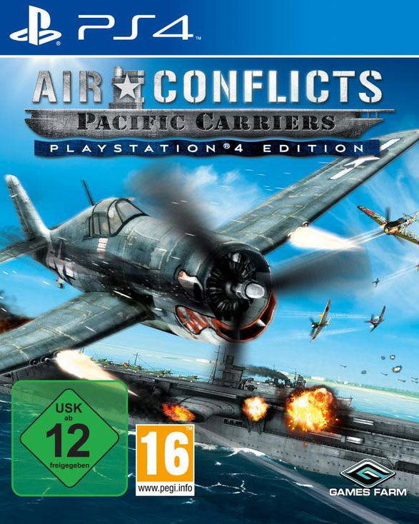 Air Conflicts: Pacific Carriers PS4