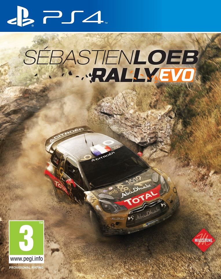 Sebastien Loeb Rally PS4