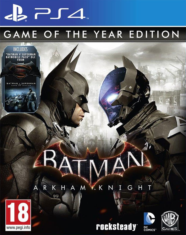 Batman Arkham Knight PS4 - GOTY edice