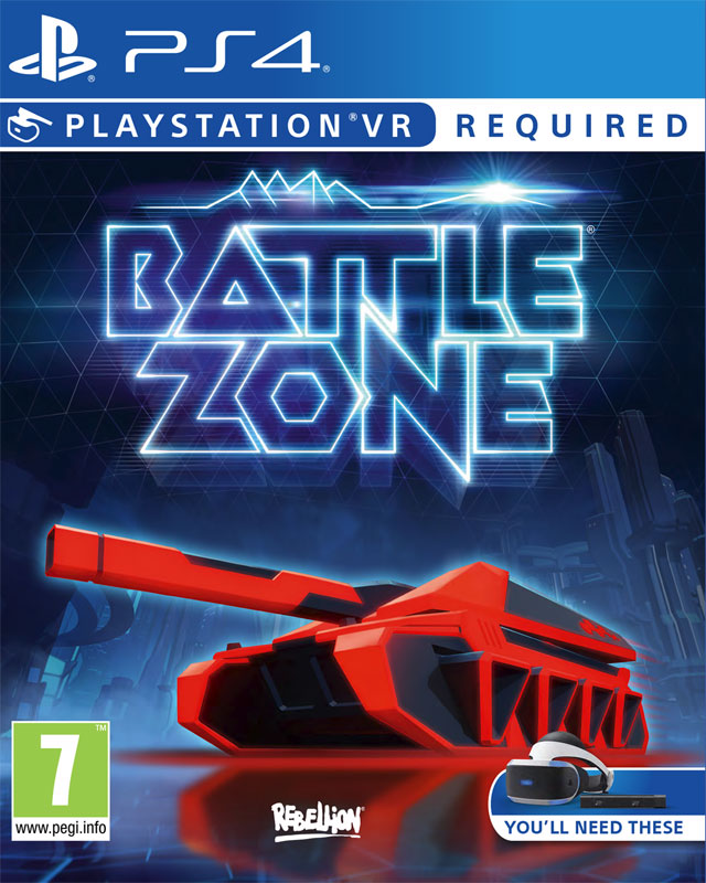 Battlezone VR PS4 - vyžaduje Playstation VR
