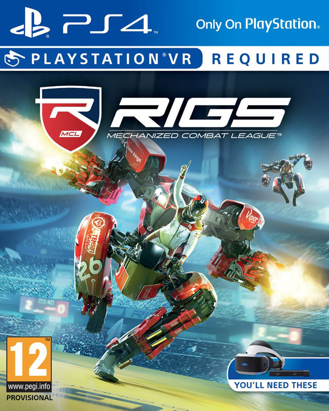 RIGS Mechanized Combat League VR PS4 - vyžaduje Playstation VR