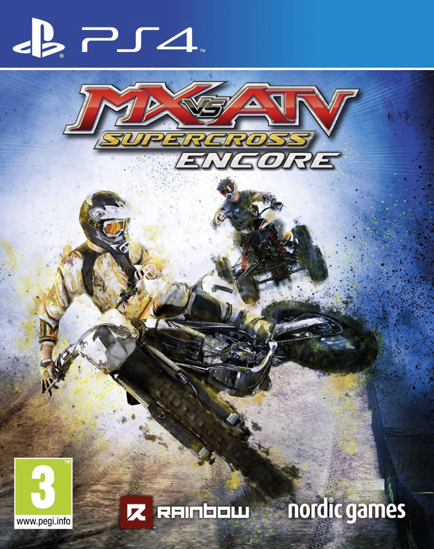 MX vs ATV Supercross: Encore PS4