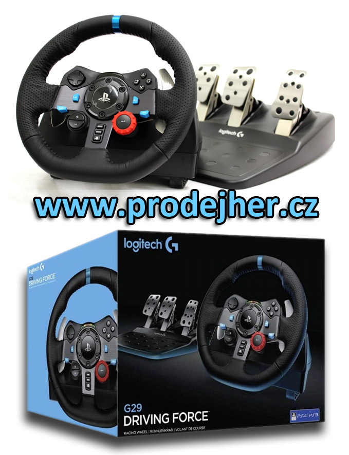 Volant Logitech G29 Driving Force na Playstation 4 a PC
