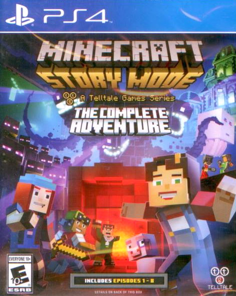 Minecraft Story Mode - The Complete Adventure PS4