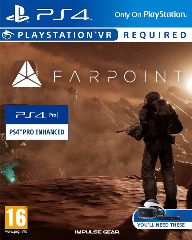 Farpoint VR PS4 - vyžaduje Playstation VR