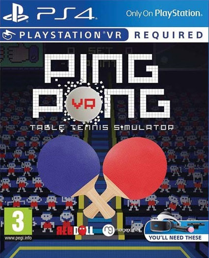 Ping Pong VR PS4 - vyžaduje Playstation VR