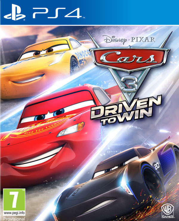 Cars 3 Drive to Win PS4