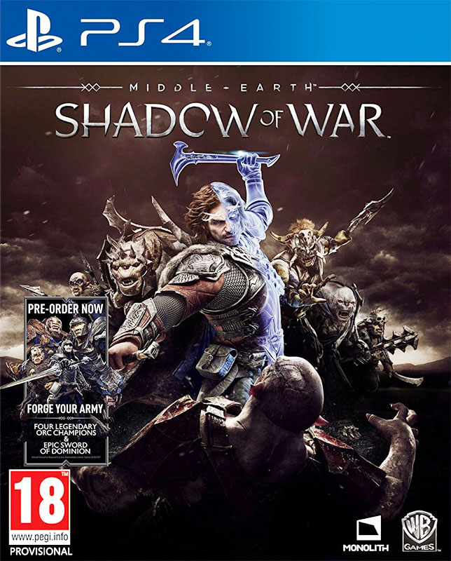 Middle-earth: Shadow of War PS4