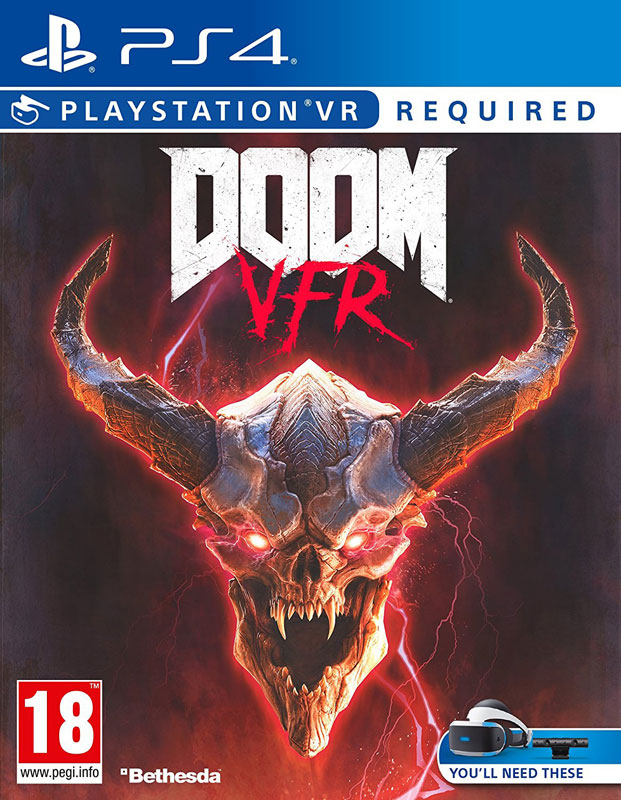 DOOM VR PS4 - vyžaduje Playstation VR