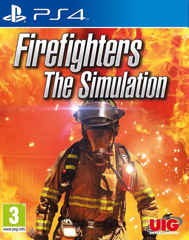Firefighters: The Simulation PS4