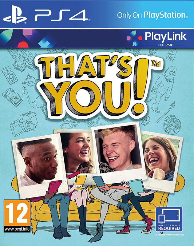 Thats You! PS4 CZ - digitální download