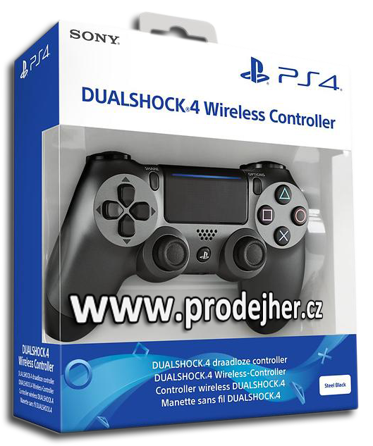 Sony Dualshock 4 v2 Steel Black