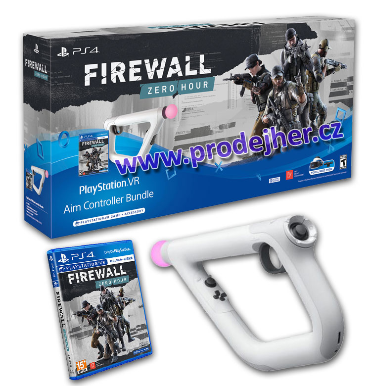 Firewall Zero Hour VR PS4 hra + Aim Controller Bundle