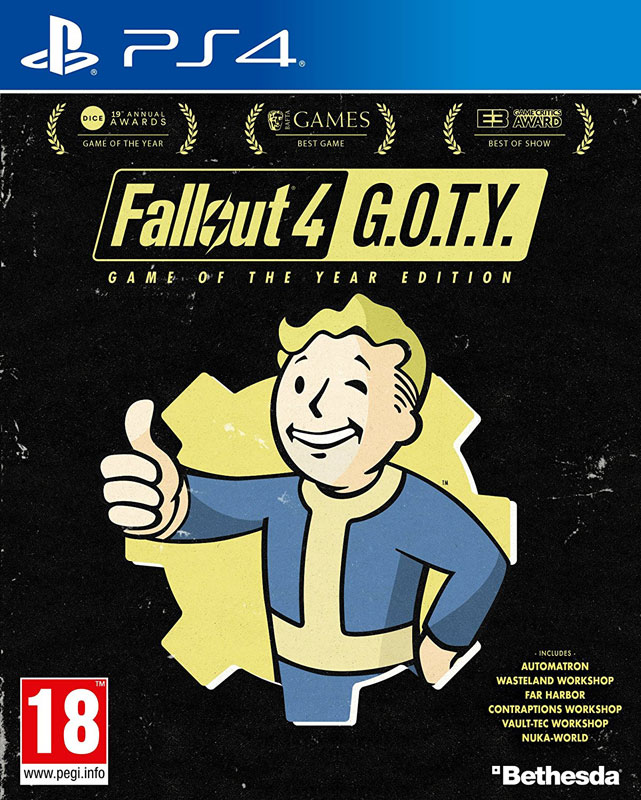 Fallout 4 Game Of The Year Edition PS4