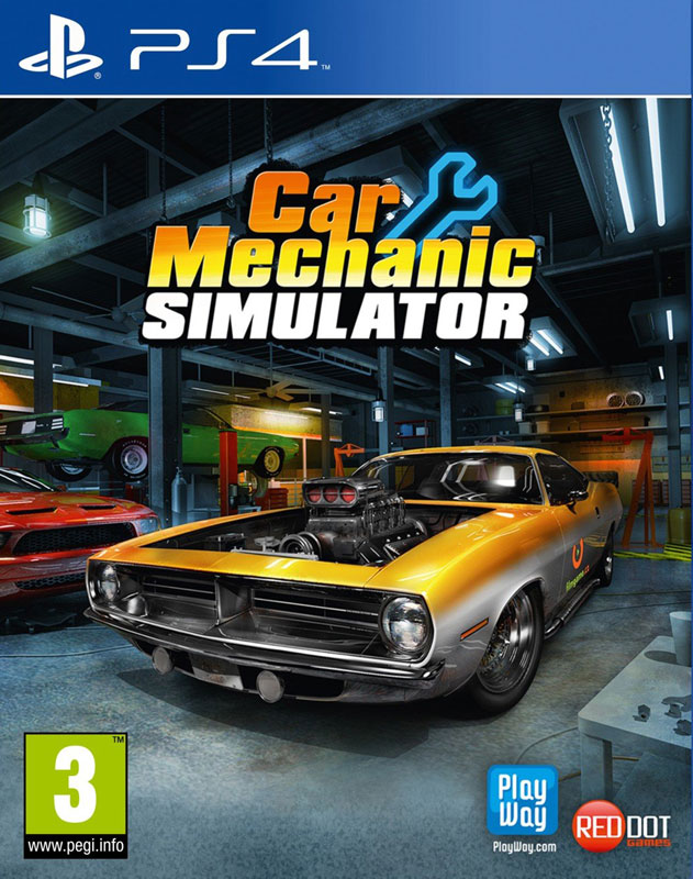 Car Mechanic Simulator PS4
