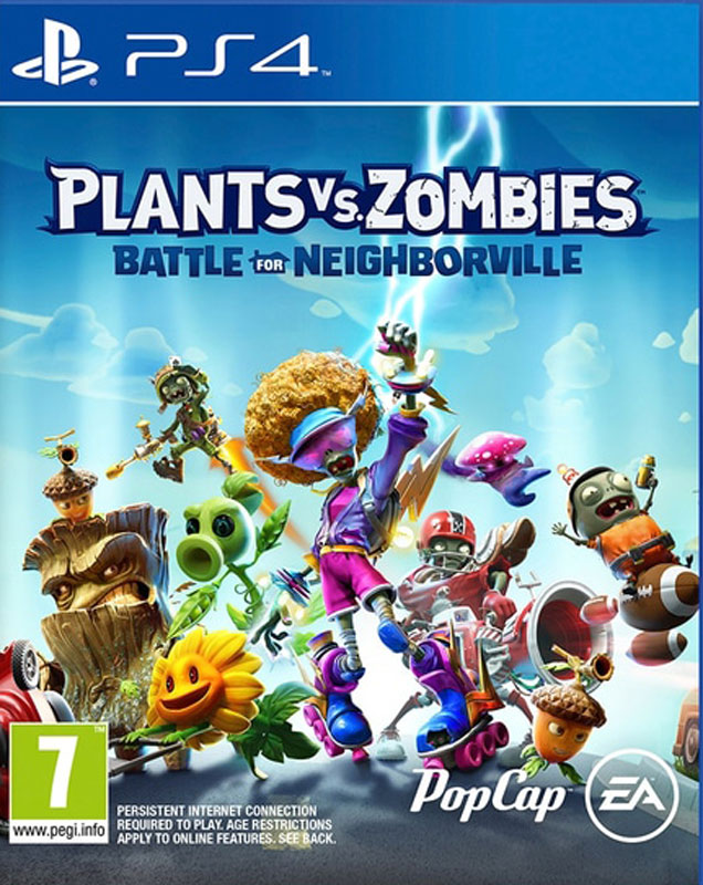 Plants vs. Zombies Battle For Neighborville PS4
